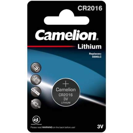 Батарейка Camelion CR2016 BL-1 1 шт