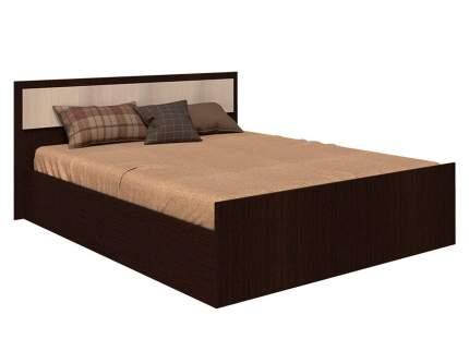 Двуспальная кровать Фиеста Венге/Лоредо, 160х200 см