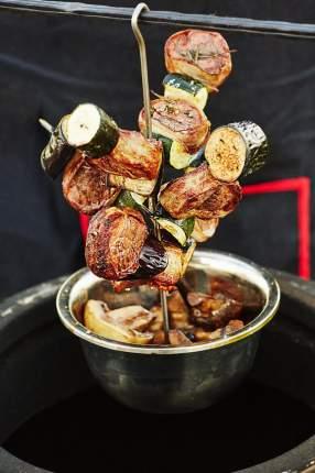 Набор крючков для мяса для гриля elochka-28-sm 1 шт.
