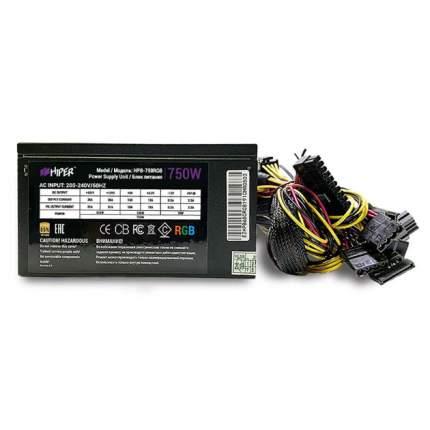Блок питания компьютера Hiper 750W HPB-750RGB
