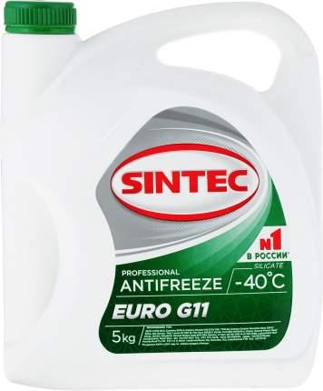 Антифриз SINTEC EURO G11 (зеленый) 5кг