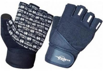 Перчатки для фитнеса и атлетики Hunter Sports HSF-307-2-A, черные, XL
