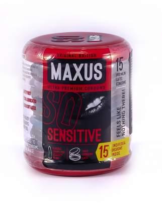 Презервативы Maxus Sensitive на водной основе