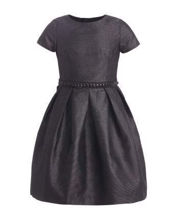Платье для девочек Gulliver, цв. черный, р.146
