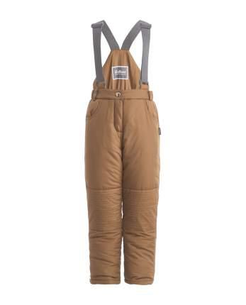 Утепленные брюки для девочек Gulliver, цв. бежевый, р.98