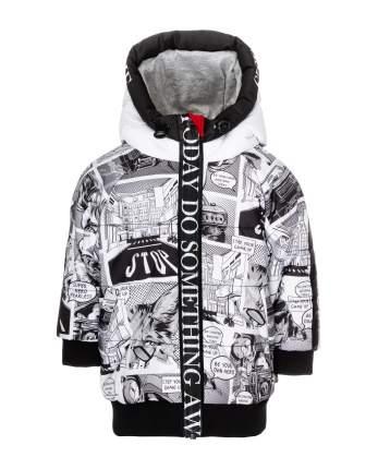 Куртка для мальчиков Gulliver, цв. серый, р.86