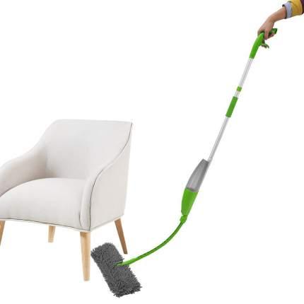 Швабра Flexi-Mop с распылителем для мытья пола, зеленая, FM-GR-01