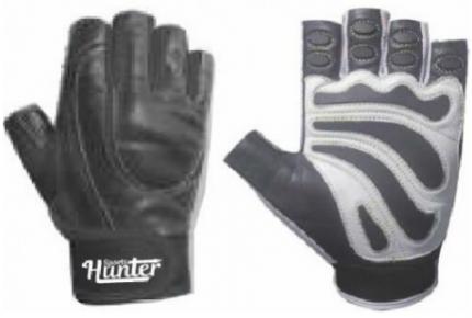 Перчатки для фитнеса и атлетики Hunter Sports HS-2001-A, черные, M