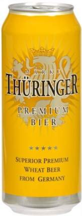 """Пиво """"Thuringer"""" Weissbier, in can"""