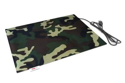 Коврик туристический  Lappo с подогревом USB, 32х26 см. Цвет камуфляж.