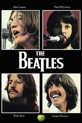 "Постер СТ-Диалог ""The Beatles"", плакат к альбому ""Let itbe"", МУЗ-057, бумага, 40х60 см"