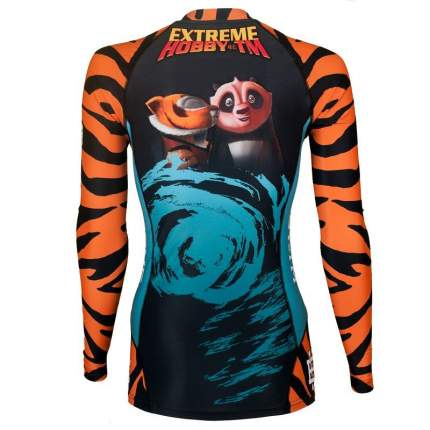 Рашгард Extreme Hobby Tigress New 2016 Blue черный, M, 180 см