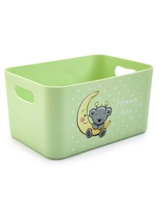 Корзина для детских игрушек Berossi Mommy love чайное дерево