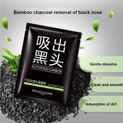 Черная маска-плёнка для носа BIOAQUA против черных точек, 10 шт х 6г