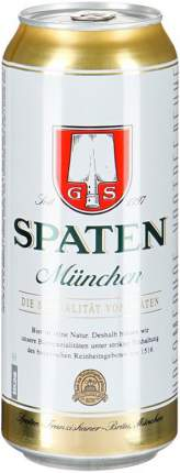 Пиво Spaten, Munchen Hell, in can