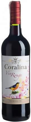 "Вино ""Coralina"" Rouge Sec"