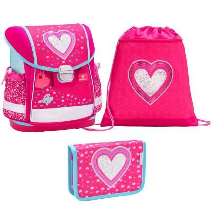 Ранец детский Belmil Classy Heart с мешком для обуви и пеналом