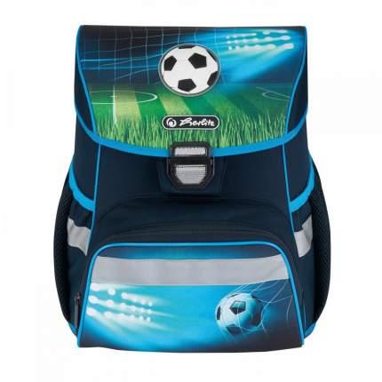 Ранец школьный Herlitz Loop Soccer с мешком для обуви, пеналом и косметичкой