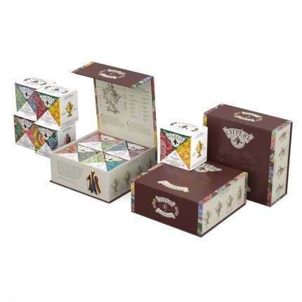 Чай Сугревъ, подарочный набор, ассорти, 4 пачки по 25 гр