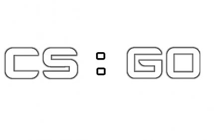 "Трафарет для покраски магазинов ""CS:GO"" (Airsoft Store)"