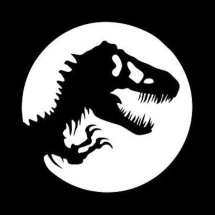 "Трафарет для покраски магазинов ""T-Rex"" (Airsoft Store)"