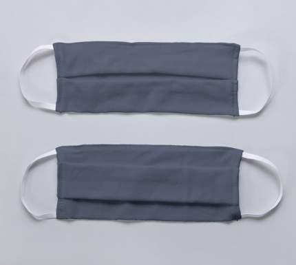 Многоразовая защитная маска Текс-Дизайн графитовая 2 шт.