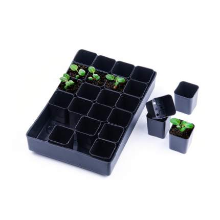 Набор для выращивания рассады, 24 стакана