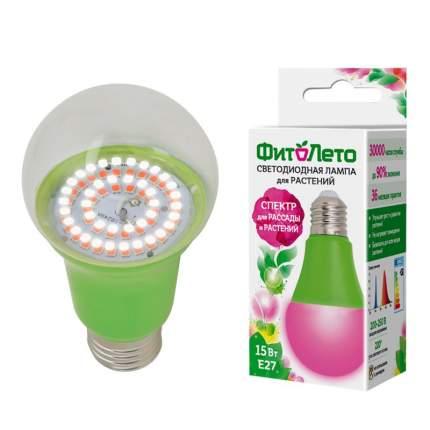 Лампа светодиодная для растений Uniel LED-A60-15W (форма А) 15 Вт