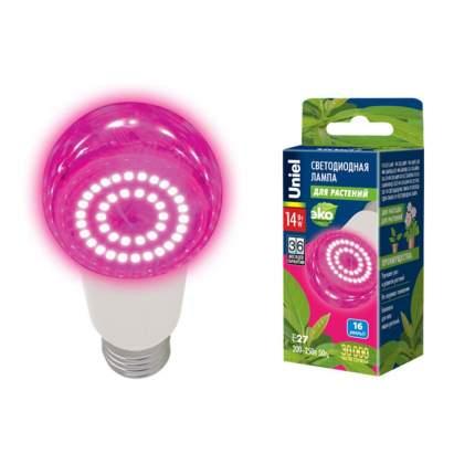 Лампа светодиодная для растений Uniel LED-A60-14W (форма А) 14 Вт