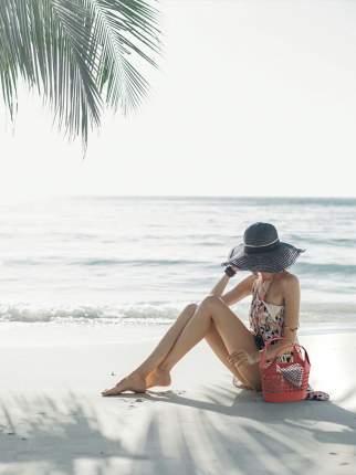Корзина для пикника Berossi ИК 38470000 7,6 л цвет коралл