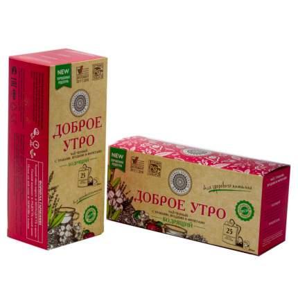 Чай Фабрика Здоровых Продуктов Доброе утро Бодрящий чёрный 25 пакетиков