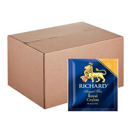 """Чай Richard """"Royal Ceylon"""", черный листовой, 200 пакетиков по 2 гр"""