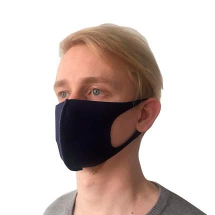 Многоразовая защитная маска NB 11871 темно-синяя 2 шт.