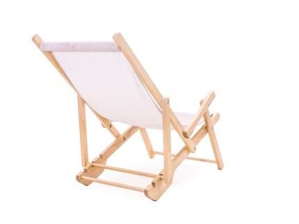 Кресло-шезлонг СМКА СМ001Б белый