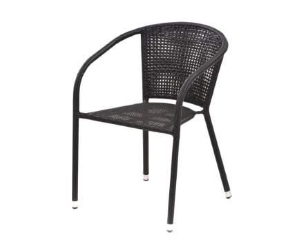 Плетеное кресло  Y137C-W53 Темно-коричневый ротанг