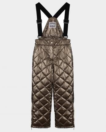 Бронзовые брюки утепленные зимние Gulliver размер 110 22001GMC6408