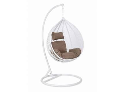 Подвесное кресло  Подвесное кресло Z-10 / Z-11 Белый иск, ротанг, Средняя корзина