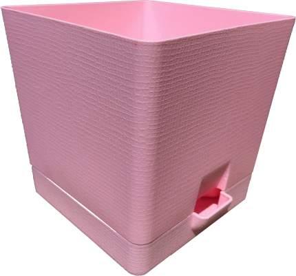 Горшок для цветов с поддоном Le Parterre 3 л розовый