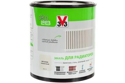 Эмаль акриловая для радиаторов Реновация V33, белая, 0.5л