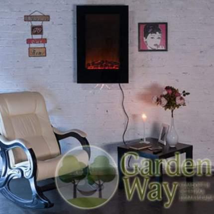Электрокамин Garden Way Way Sky-high 490, черный