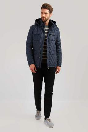 Куртка мужская Finn-Flare B19-22013 синяя XL
