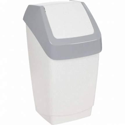 Контейнер для мусора ХАПС мраморный 15 л