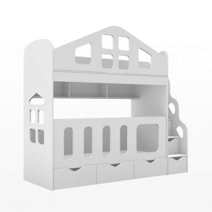 Двухъярусная кровать HAPPY HOME Soul Baby Home, 180х80