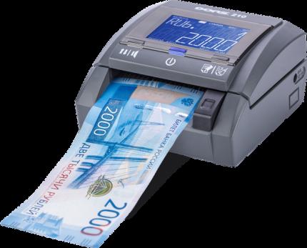 Автоматический детектор банкнот DORS 210 Compact с аккумуляторной батареей