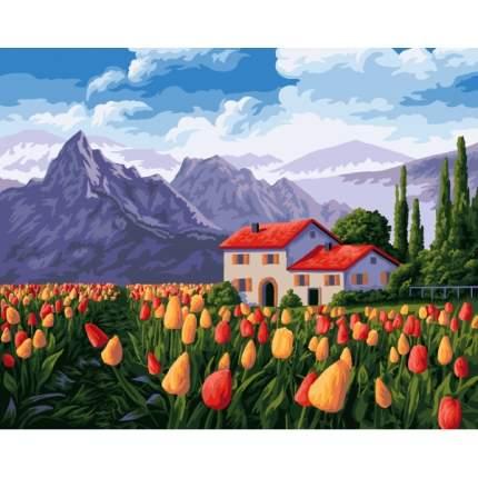 """Раскраска по номерам на холсте """"Голландия"""", 40 х 50 см Фабрика Творчества"""