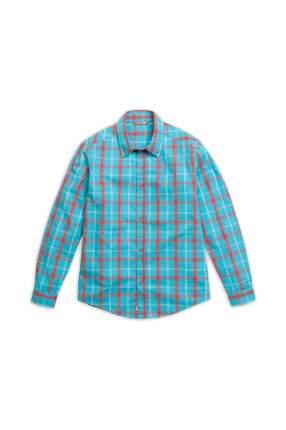 Рубашка детская Pelican, цв. синий, р-р 134