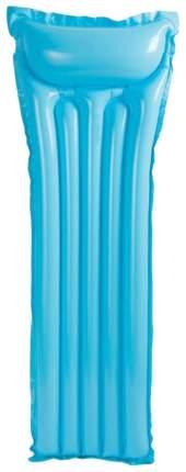 Надувной матрас Intex 59703-голубой 183 х 69 см