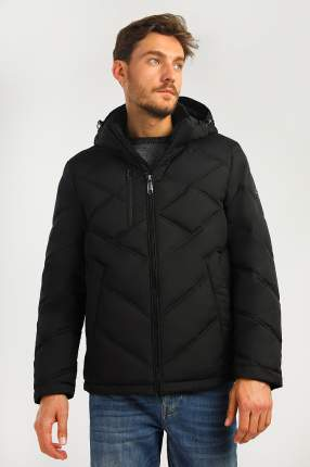 Куртка мужская Finn-Flare A19-21010 черная 2XL