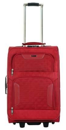 Чемодан Verona Denver, бордовый, 56 см, S