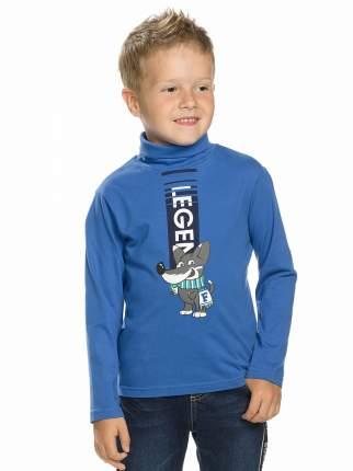 Водолазка детская Pelican, цв. синий, р-р 98